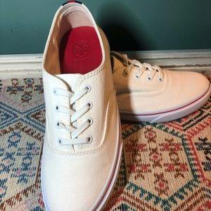 Tory Burch White Murray Sneakers